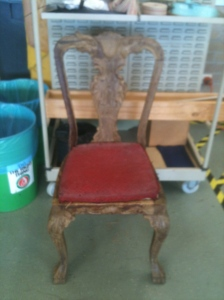 Old Dining Room Chair