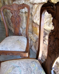 Recovered, Restored Dining Room Chair