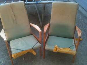 Vintage TV Chairs
