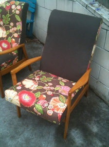 Recovered TV Chair